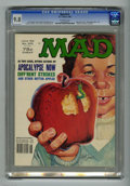 "Magazines:Mad, Mad #215 (EC, 1980) CGC NM/MT 9.8 Off-white pages. ""Apocalypse Now""and ""Diff'rent Strokes"" parodies. Bob Jones cover. Don M..."