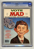 """Magazines:Mad, Mad #218 (EC, 1980) CGC NM/MT 9.8 Off-white pages. """"Being There""""and """"WKRP in Cincinnati"""" parodies. Norman Mingo cover. Don ..."""