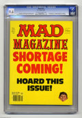 """Magazines:Humor, Mad #221 (EC, 1981) CGC NM+ 9.6 Off-white to white pages. """"TheShining"""" and """"Trapper John M.D."""" parodies. Mort Drucker, Don ..."""