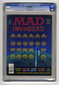 "Magazines:Mad, Mad #230 (EC, 1982) CGC NM/MT 9.8 Off-white to white pages. ""Space Invaders"" cover gag. ""General Hospital"" parody. Mort Druc..."