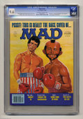 """Magazines:Mad, Mad #235 (EC, 1982) CGC NM+ 9.6 Off-white to white pages. """"Conanthe Barbarian,"""" """"Rocky III,"""" and """"The Facts of Life"""" parodi..."""
