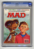 "Magazines:Mad, Mad #236 (EC, 1983) CGC NM/MT 9.8 Off-white to white pages. ""E.T.,""""Star Trek II,"" and ""Annie"" parodies. Jack Rickard cover..."