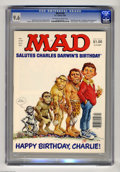 Magazines:Mad, Mad #238 (EC, 1983) CGC NM+ 9.6 Off-white to white pages. JackRickard cover. Mort Drucker, Don Martin, Dave Berg, Jack Davi...