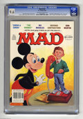 "Magazines:Mad, Mad #239 (EC, 1983) CGC NM+ 9.6 Off-white to white pages. ""Simon and Simon""and ""The Verdict"" parodies. Jack Rickard cover fe..."