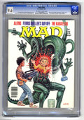 """Magazines:Mad, Mad #268 (EC, 1987) CGC NM+ 9.6 Off-white to white pages. BillElder and Harvey Kurtzman cover. """"Aliens"""" and """"Ferris Bueller..."""
