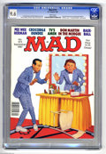 """Magazines:Mad, Mad #273 (EC, 1987) CGC NM+ 9.6 White pages. """"Crocodile Dundee""""parody. Richard Williams cover. Angelo Torres, Don Martin, M..."""