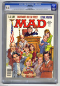 "Magazines:Mad, Mad #274 (EC, 1987) CGC NM+ 9.6 Off-white pages. Don Martin's lastissue as a regular artist for the magazine. ""L.A. Law"" an..."