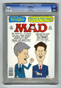 """Magazines:Mad, Mad #325 (EC, 1994) CGC NM/MT 9.8 White pages. """"The Fugitive"""" movie parody. Sam Viviano cover features Bill Clinton and Al G..."""
