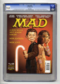 "Magazines:Mad, Mad #419 (EC, 2002) CGC NM/MT 9.8 White pages. Two different coversexist (this is #1 of 2, with Roberto Parada art). ""Star ..."