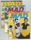 Magazines:Humor, Mad Modern Age Group (EC, 1978-2000) Condition: Average VF/NM 9.0.Nice stack of later Mads, featuring the following iss... (Total: 15Comic Books Item)
