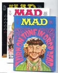Magazines:Mad, Mad Group (EC, 1968-89) Condition: Average NM-. This group includes#118, 119, 128, 140, 141, 143, 151, 152, 153, 219, 224, ... (Total:27 Comic Books Item)