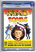 "Modern Age (1980-Present):Humor, Mad Super Special #59 Gaines File pedigree (EC, 1987) CGC NM 9.4White pages. Entitled ""Mad Bombs."" Overstreet 2004 NM- 9.2 ..."