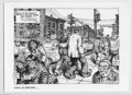 """Original Comic Art:Paintings, Robert Crumb - Art Print (Schanes and Schanes, 1980). Pulled directly from the """"Portfolio of Underground Cartoonists,"""" comes..."""