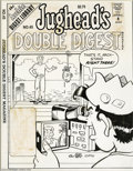 Original Comic Art:Covers, Stan Goldberg and Mike Esposito - Jughead's Double Digest Magazine#45 Cover Original Art (Archie, 1997). Jughead uses a bit...