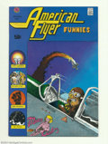 Bronze Age (1970-1979):Alternative/Underground, American Flyer Funnies #1 (Print Mint, 1972) Condition: NM-. Artists include Larry Welz and Larry Todd. Listed in Jerry Weis...