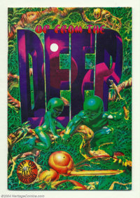 Up From the Deep #1 (Rip Off Press, 1971) Condition: NM-. Second printing. Richard Corben art