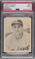 Baseball Cards:Singles (1930-1939), 1939 Play Ball Dolph Camilli (All Caps) #86 PSA Mint 9 - Pop One, None Higher. ...