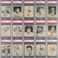 Baseball Cards:Lots, 1939 Play Ball Low-Numbers PSA NM-MT 8 Collection (15). ... (Total: 15 items)