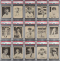 Baseball Cards:Lots, 1939 Play Ball Low-Numbers PSA-Graded Collection (15). ... (Total: 15 items)