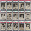 Baseball Cards:Lots, 1939 Play Ball High-Numbers PSA NM-MT 8 Collection (15). ... (Total: 15 items)