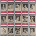 Baseball Cards:Lots, 1939 Play Ball Low- & High-Numbers PSA-Graded Collection (15). ...