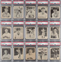 Baseball Cards:Lots, 1939 Play Ball Low-Numbers PSA-Graded Collection (15). ...