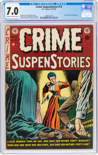 Crime SuspenStories #13 (EC, 1952) CGC FN/VF 7.0 Cream to off-white pages