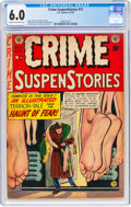 Golden Age (1938-1955):Crime, Crime SuspenStories #11 (EC, 1952) CGC FN 6.0 Cream to off-white pages....