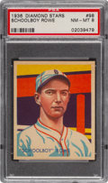 Baseball Cards:Singles (1930-1939), 1934-36 Diamond Stars Schoolboy Rowe #98 PSA NM-MT 8 - Only Two Higher. ...