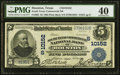 National Bank Notes:Texas, Houston, TX - $5 1902 Plain Back Fr. 602 South Texas Commercial National Bank Ch. # (S)10152 PMG Extremely Fine 40....