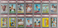 Baseball Cards:Lots, 1967 Topps Baseball PSA High-Grade Partial Set (125) - Most are Mint 9! ...
