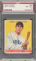 Baseball Cards:Singles (1930-1939), 1933 Goudey Lefty O'Doul #232 PSA NM-MT 8....