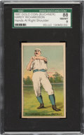Baseball Cards:Singles (Pre-1930), 1887 N284 Buchner Hardy Richardson SGC 88 NM/MT 8 - Top Five Finest N284 on the SGC Census! ...