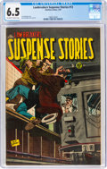 Golden Age (1938-1955):Crime, Lawbreakers Suspense Stories #13 (Charlton, 1953) CGC FN+ 6.5 Off-white to white pages....