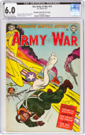 Golden Age (1938-1955):War, Our Army at War #19 Murphy Anderson File Copy (DC, 1954) CGC FN 6.0 Off-white to white pages....
