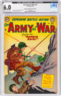 Golden Age (1938-1955):War, Our Army at War #22 Murphy Anderson File Copy (DC, 1954) CGC FN 6.0 Off-white to white pages....