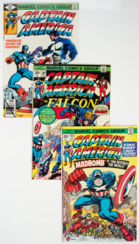 Captain America #148-258 Near-Complete Range Box Lot (Marvel, 1972-81)