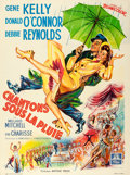 "Movie Posters:Musical, Singin' in the Rain (MGM, 1952). Fine/Very Fine on Linen. French Grande (47.5"" X 63.5"").. ..."