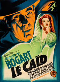 """The Big Shot (Warner Bros., 1949). Very Fine on Linen. First Release Full-Bleed French Grande (44.5"""" X 61"""") Bo..."""