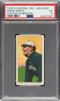 Baseball Cards:Singles (Pre-1930), 1909-11 T206 Sweet Caporal 350/460/42OP Frank Smith (Chicago & Boston) PSA EX 5. ...