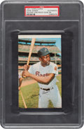 Baseball Cards:Singles (1970-Now), 1971 Topps Super Hank Aaron (Square Corner Proof-Blank Back) PSA Authntic....