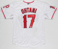 Autographs:Jerseys, Shohei Ohtani Signed Los Angeles Angels Jersey....