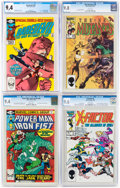 Modern Age (1980-Present):Miscellaneous, Marvel Modern Age CGC-Graded Group of 4 (Marvel, 1980-86).... (Total: 4 )