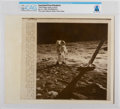 "Explorers:Space Exploration, AP Original Wirephotos: ""Aldrin Begins Walk on Moon"" July 31, 1969, Directly From The Armstrong Family Collection™, CAG Ce..."