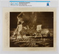 "Explorers:Space Exploration, AP Original Wirephotos: ""Moon Samples Collected"" July 20, 1969, Directly From The Armstrong Family Collection™, CAG Certif..."