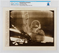 """AP Original Wirephotos: """"Armstrong on Moon"""" July 20, 1969, Directly From The Armstrong Family Collection™, CAG..."""