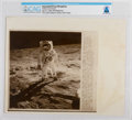 """Explorers:Space Exploration, AP Original Wirephotos: """"Walk on the Moon"""" July 31, 1969, Directly From The Armstrong Family Collection™, CAG Certified...."""