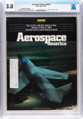 Explorers:Space Exploration, Magazines: Aerospace America Dated August 1990, Directly From The Armstrong Family Collection™, CAG Certified and ...