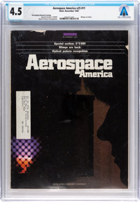 Magazines: Aerospace America Dated November 1987, Directly From The Armstrong Family Collection™, CAG Certified an