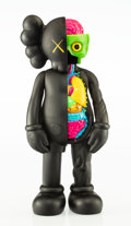 Collectible:Contemporary, KAWS (b. 1974). Dissected Companion (Black), 2006. Painted cast vinyl. 14-3/4 x 6-1/4 x 3-1/4 inches (37.5 x 15.9 x 8.3 ...
